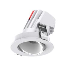 Светодиодный точечный светильник 25Вт регулируемый встраиваемый потолочный светильник cob