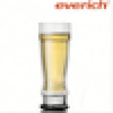 BPA libre de fondo grueso vaso de vidrio de beber