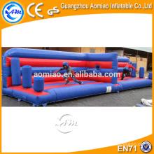 Insuflável, bungee jump, bungee, trampolim, inflável, bungee, corrida, bungee, puxão, guerra