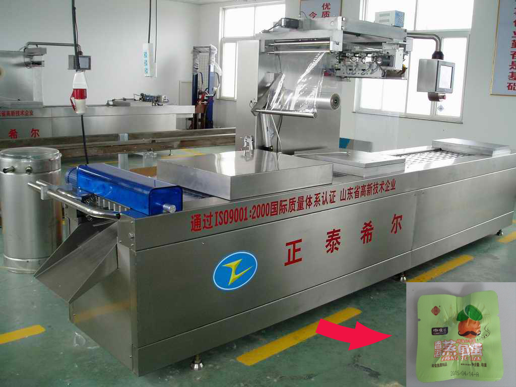 Meat Snack Food DZR520 Vacuum Packing Machine