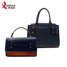 Promotion Ladies Blue Satchel Clutch Schultertasche