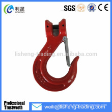 super alloy steel G80 U.S.type clevis lifting hooks for cranes