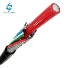 16мм изолированный xlpe Алюминиевый концентрический кабель