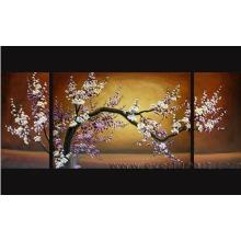 Handmade азиатского искусства Черри Блоссом масляной живописи на холсте (FL3-033)