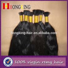 Indisches Menschenhaar Unverarbeitetes Remy Express Haarmasse
