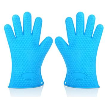 Heat-resistance Silicone Baking Gloves For Grill Cooking