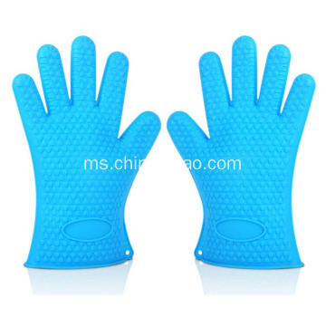 BBQ Baking Smoke Oven Glove Silicone Extra