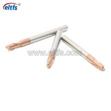 Solid Carbide Cutting Tools 2 Flutes Corner Radius End Mill