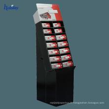 présentoir de caisse de téléphone portable de carton de magasin de détail, affichage mobile d'accessoires, présentoir accessoire de téléphone portable