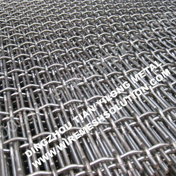 Plain Weave Stainless Steel Crimped Wire Mesh
