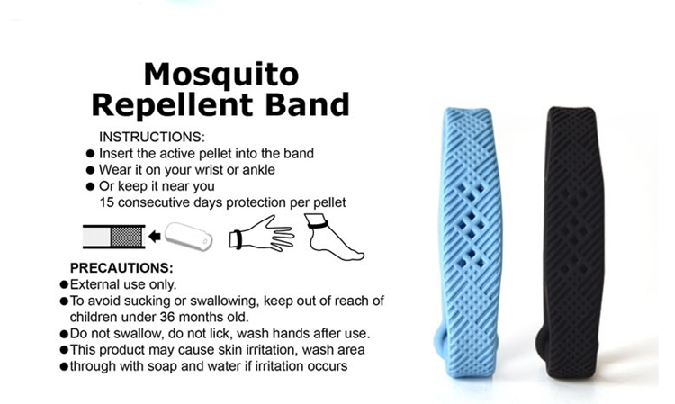 Light Blue Mosqueto Bracelet
