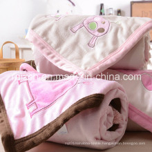 Double Embroidered Baby Blankets / Hold Blanket 76 * 102cm
