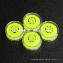 25x10mm mini round bubble level vials
