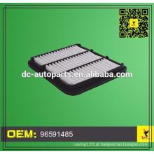 Donaldson air filter compressores de ar 96591485