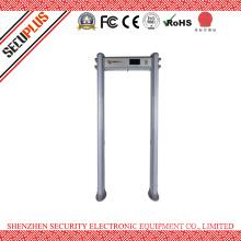 Elliptical IP55 Waterproof Security Metal Detector Gate With LCD Display