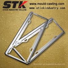 Marco de placa de aleación de zinc para accesorios de automóvil (LP002)