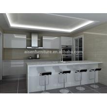 Profesional en Australia mercado diseño popular gabinete de cocina moderno