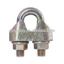 Attache-pince de câble métallique malléable avec EN13411-5