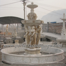 Stone Marble Water Fountain for Garden Sculpture (SY-F354)