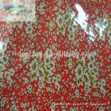 PVC Laminated Printed Polyester Cotton TC Fabric For Home Textile