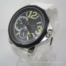 Novo relógio de silicone elegante (HAL-1271)