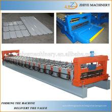 Techo de metal galvanizado / placa de pared que forma la máquina