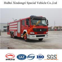 16ton HOWO Espuma contra incendios Vehículo Euro4