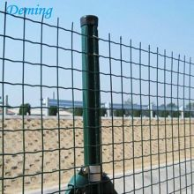 PVC Dilapisi Welded Wire Mesh Euro Fence