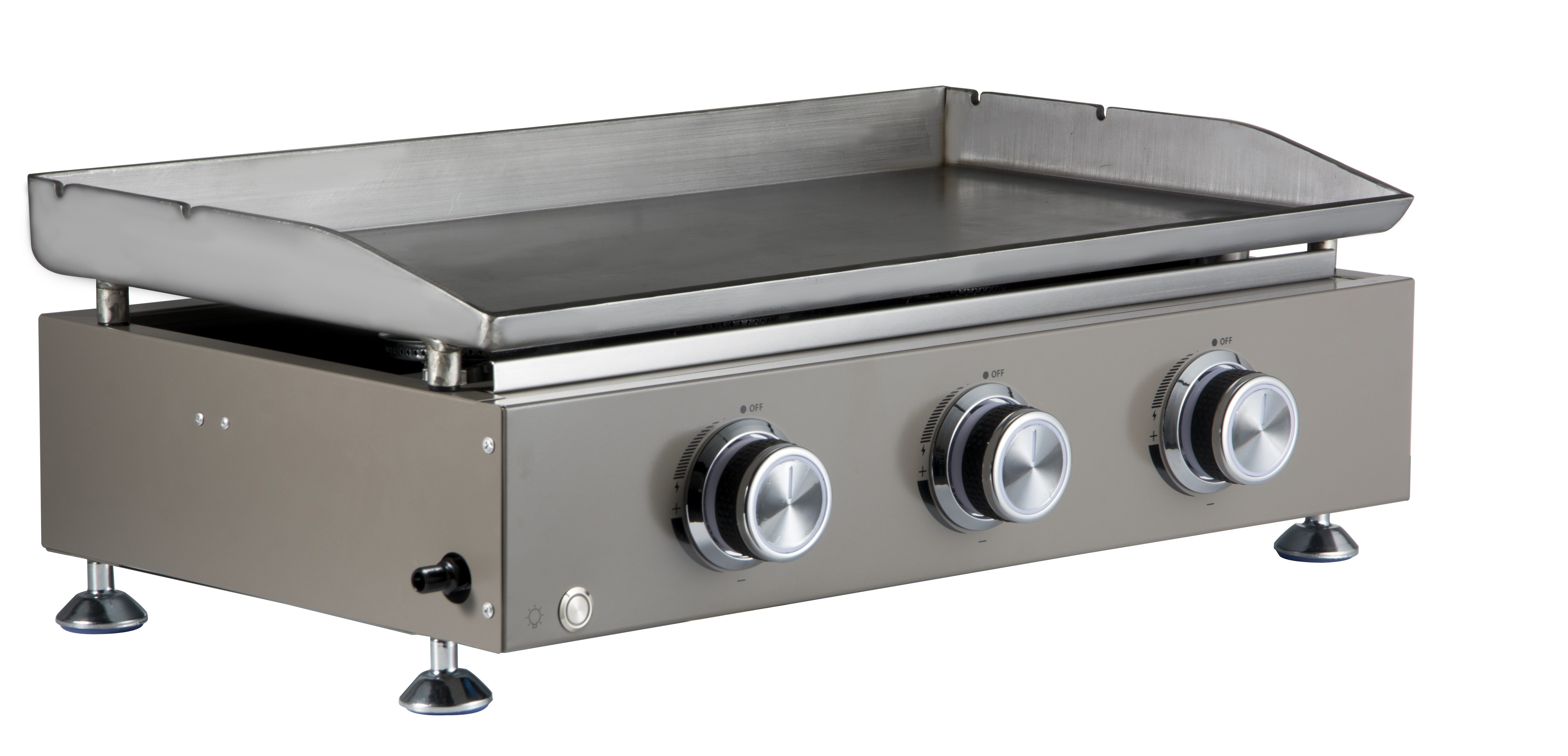 Garden 3 Burners Gas Grill Griddle