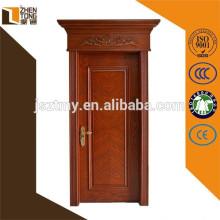 Portas de madeira maciças favoráveis ao meio ambiente da porta de madeira natural do estilo 2015