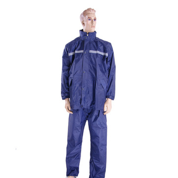 Ensemble imperméable de police en nylon