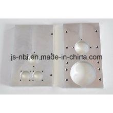 Usine en aluminium de la plaque de machine pour l'utilisation du moteur / fonderie