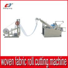 Machine automatique de découpe en sac à rouleaux en tissu tissé en plastique automatique en Chine