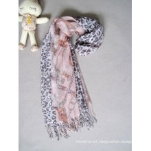 Printing lady wholesale scarf charms