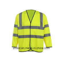 Long Sleeve High Visibility Refelective Safety Vest