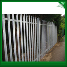 Hot dipped galvanized palisade steel panel