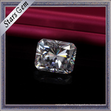 Todo el precio de venta Vvs E / F color radiante Cut Moissanite Stones para el collar de moda