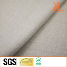Polyester Home Textile Inherently Flame Retardant Fireproof Plain Oxford Sofa Fabric