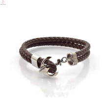 Classic Brown Bulk Purchase Leather Bracelet China Factory