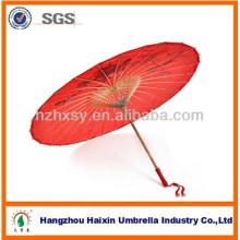 Handgefertigte chinesische Regenschirm Bambus Rahmen Papier Regenschirm