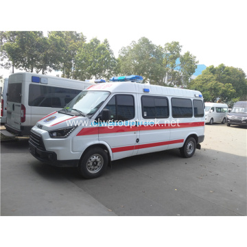 ambulance van vehicle truck with equipment