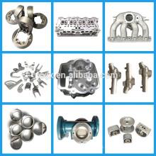 Peças de alumínio personalizadas CNC da carcaça da gravidade do projeto do desenho