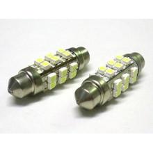 3528 24SMD 12V White Automotive Festoon lâmpadas LED de reposição