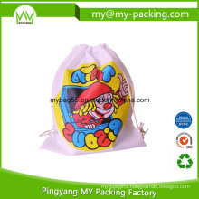 Custom Order Promotional School Drawstring Bag for Kids