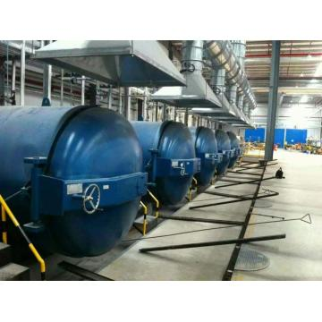 2 * 3M Steam Rubber Vulkanisir Autoclave