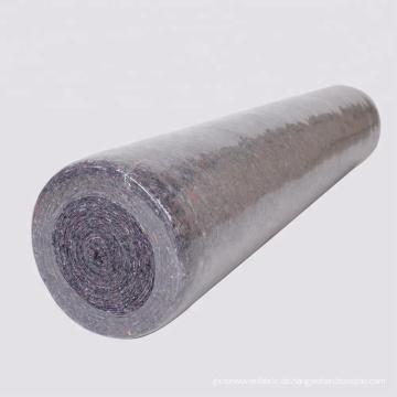recyceltem laminierten Vlies Rollen Filz Pad Bodenmatte Nadel Teppich Punsch