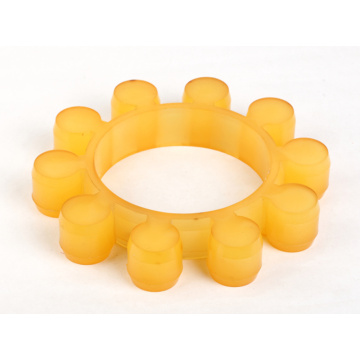 Urethane MT Type Coupling Spiders Plum Flower Mat