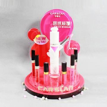 Support de rouge à lèvres liquide rond