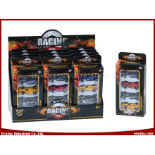 Die Cast Metal Car Toys 4 in 1 Racing Car Model Toys
