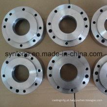 A fabricação de metal do CNC do OEM faz à máquina a flange forjada